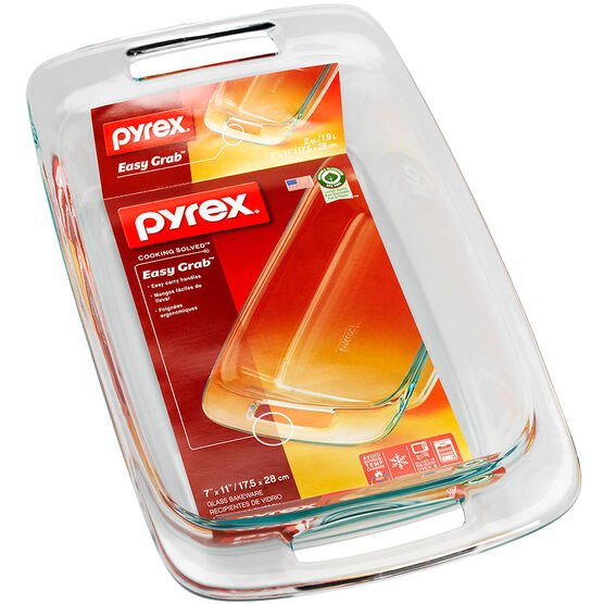 Pyrex Easy Grab Bakeware - 1.9L