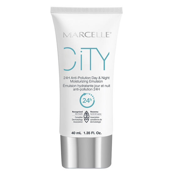 Marcelle City 24H Anti-Pollution Day & Night Moisturizing Emulsion - 40ml