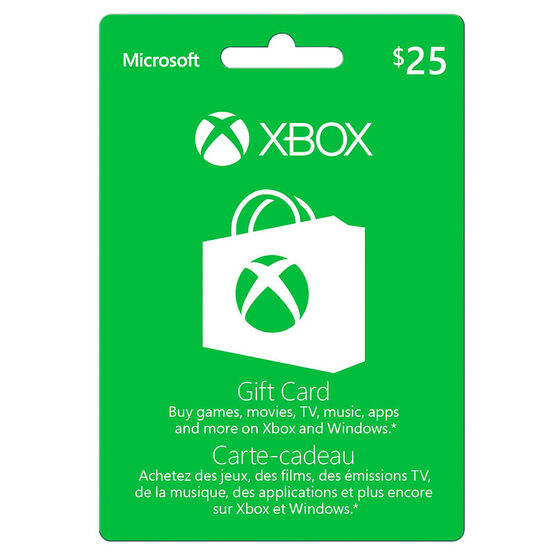 Xbox Gift Card - $25