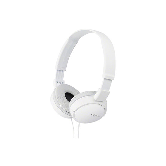 Sony ZX110 On-Ear Headphones - White - MDRZX110WHI