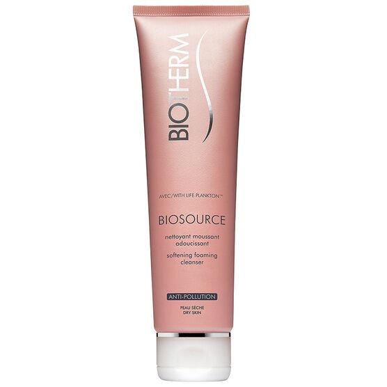Biotherm Biosource Softening Cleansing Foam - Dry Skin - 150ml