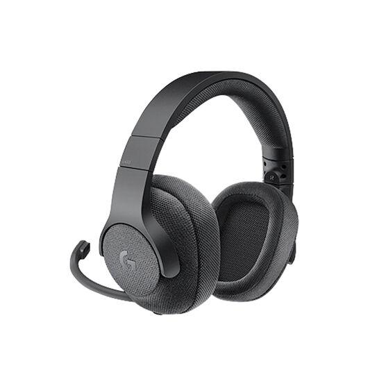 Logitech G433 7.1 Wired Surround Gaming Headset - Black - 981-000708