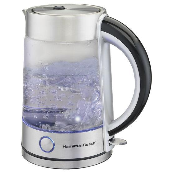 Hamilton Beach Glass Kettle - 1.7L - 40867C