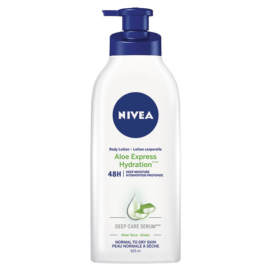 Nivea Aloe Express Hydration Body Lotion - Normal to Dry Skin - 625ml