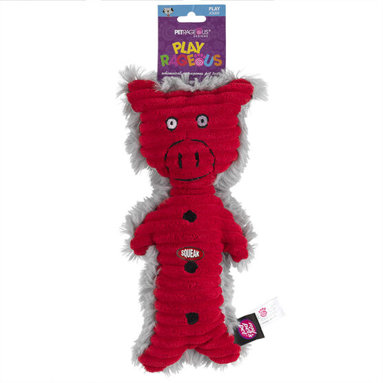 Polly the Pig Dog Toy