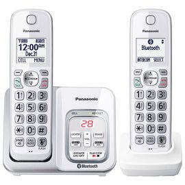 Panasonic 2-Handset Cordless Phone - White - KXTGD592W