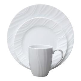 Corelle Boutique Swept Dinnerware Set - White - 16 piece