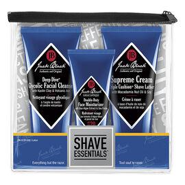 Jack Black Shave Essentials Kit - 3 piece