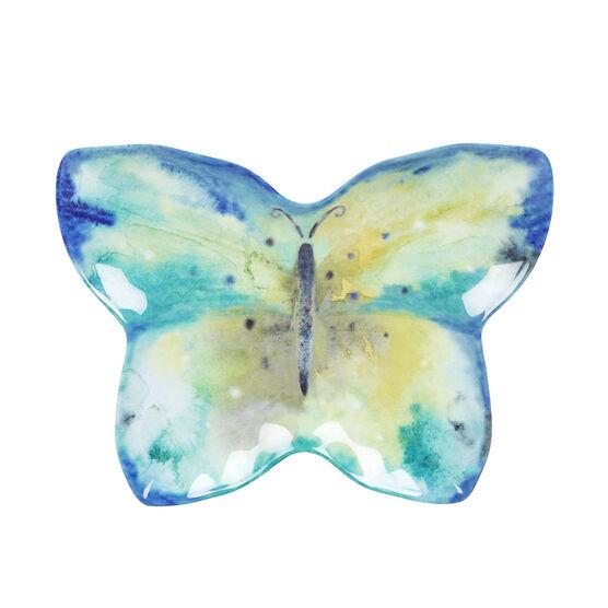 London Drugs Melamine Plate - Butterfly - 8.4in