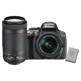 Nikon D5300 with AF-P DX 18-55mm and 70-300mm Lens Kit - 30584