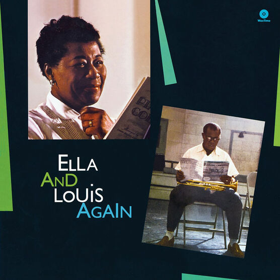 Fitzgerald, Ella & Armstrong, Louis - Ella and Louis Again - Vinyl