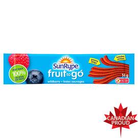 Sun-Rype Fruit To Go - Apple Wildberry - 14g