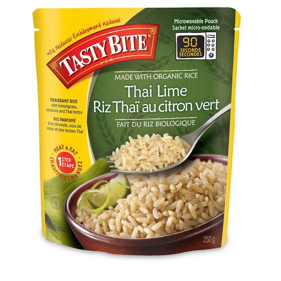Tasty Bite Organic Thai Lime Rice - 250g