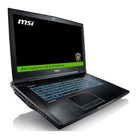 MSI WT73VR 7RM-629CA VR Ready 3D CAD CAM Workstation Laptop - 17 Inch - Intel Xeon