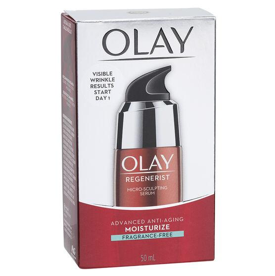 Olay Regenerist Micro-Sculpting Serum - Fragrance Free - 50ml