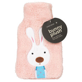 Star&Rose Bunny Plush Super Pink Hot Water Bottle