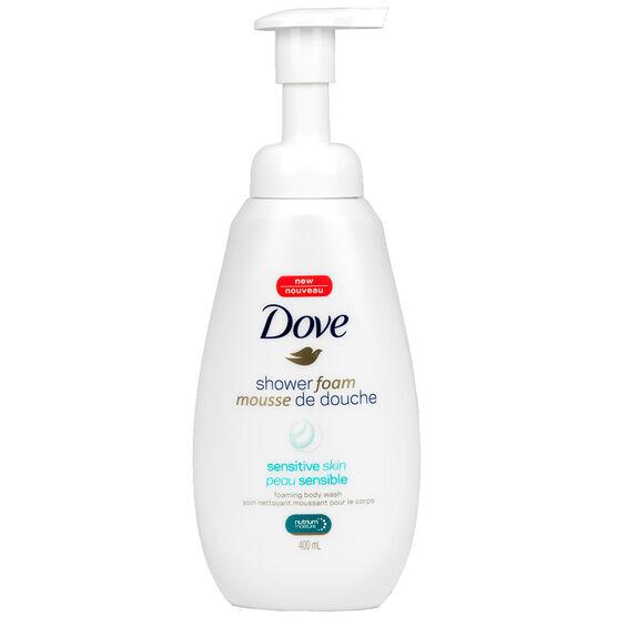 Dove Shower Foam - Sensitive Skin - 400ml