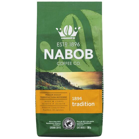 Nabob 1896 Tradition Coffee -  Medium Roast - Ground - 300g