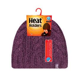 Heat Holders Ladies Knit Toque -  Purple
