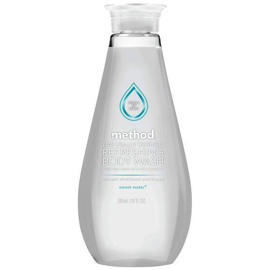 Method Refreshing Body Wash - Sweet Water - 532ml