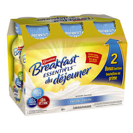 Nestle Carnation Breakfast Essentials - Vanilla - 6 x 237ml