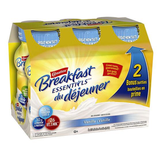 Nestle Carnation Breakfast Essentials - Vanilla - 6 x 237ml