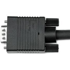 StarTech Coax High Resolution VGA Monitor Cable HD15 M/M - Black - 10 ft. - MXT101MMHQ10