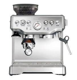 Breville Barista Espresso Machine - Silver - BREBES870XL
