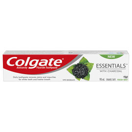 Colgate Essentials with Charcoal Toothpaste - 98ml