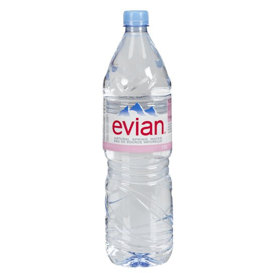 Evian Natural Spring Water - 1.5L