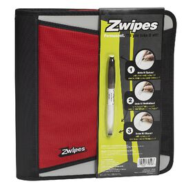 Zwipes Zipper Binder - Assorted - 1.5inch