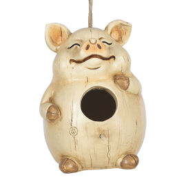 London Drugs Garden Birdhouse - Pig
