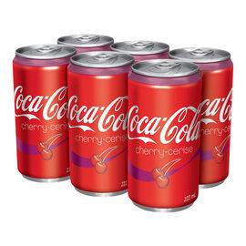 Coca-Cola Cherry - 6x222ml