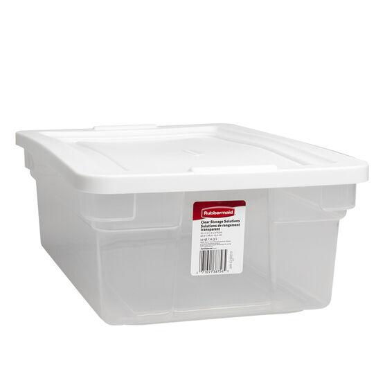 Rubbermaid See-Through Storage Box - 11.3L