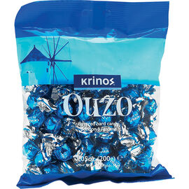 Krinos Ouzo Hard Candies - 200g