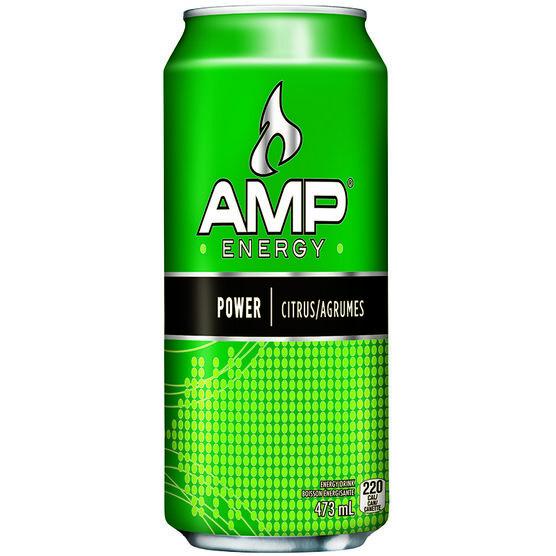 Amp Energy Drink - 473ml