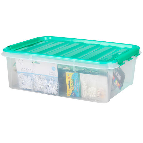Snapware Smart Store with Teal Handles - 14.2L