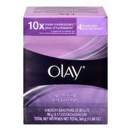 Olay Age Defying Bar Soap - 4 x 90g