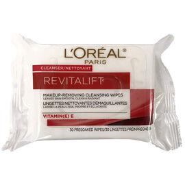 L'Oreal Revitalift Makeup Removing Wipes - Vitamin E - 30's