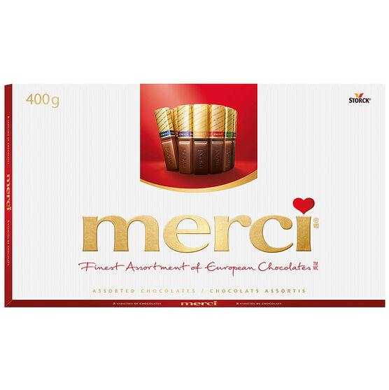Merci Assorted European Chocolates - 400g