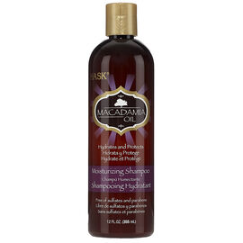 HASK Macadamia Oil Moisturizing Shampoo - 355ml