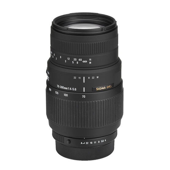 Sigma 70-300mm f/4.0-5.6 DG Macro Lens - Pentax Mount