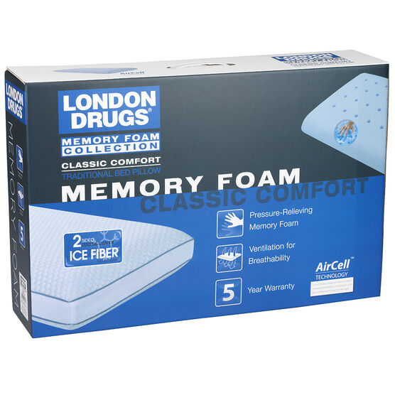 London Drugs Memory Foam Pillow - Classic