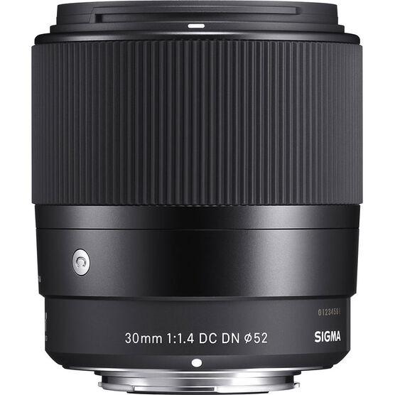 Sigma Contemporary 30mm 1.4 DC DN Lens for Micro Four Thirds - C30DCDNMFT