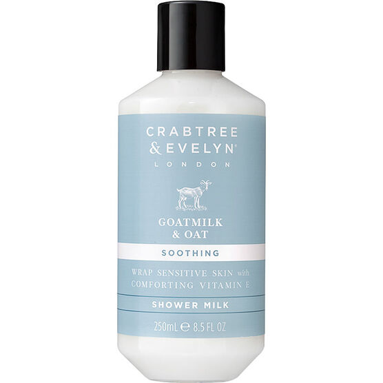 Crabtree & Evelyn Goatmilk & Oat Soothing Shower Milk - 250ml