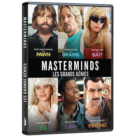 Masterminds - DVD