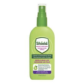Shield Repels Head Lice Leave in Detangling Spray - 147ml