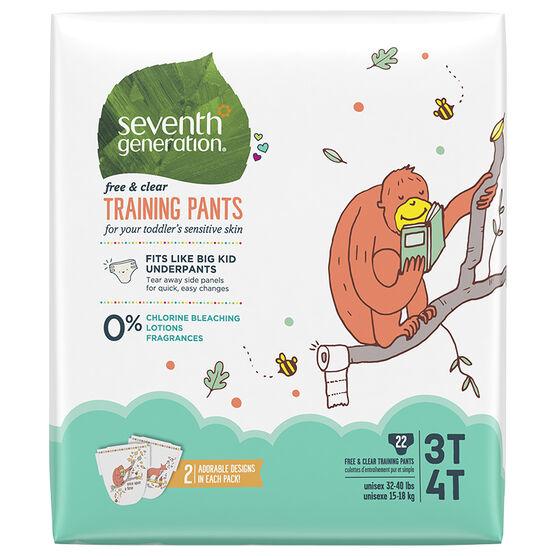 7th Generation Training Pants - 3T/4T - 22's