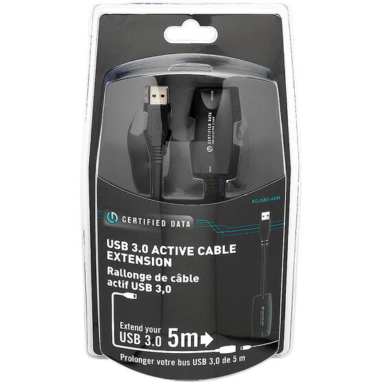 Certified Data USB 3.0 Extension Cable - 5 meter - GUSB3-A5M