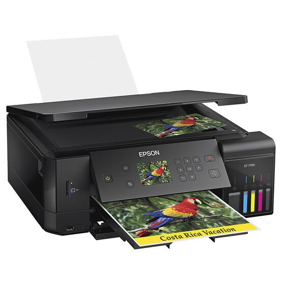 Epson Expression Premium EcoTank ET-7700 Supertank All In One Photo Printer